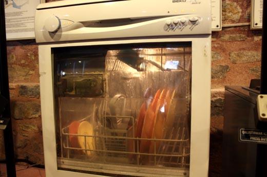 разрез посудомоечной машины