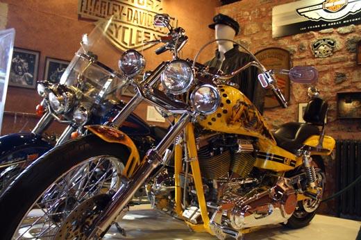 мотоцикл в музее