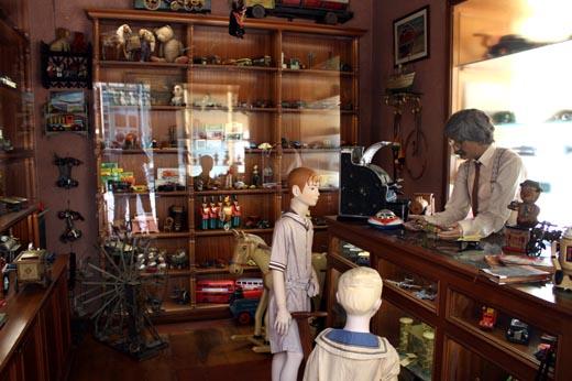 старинное помещение музей