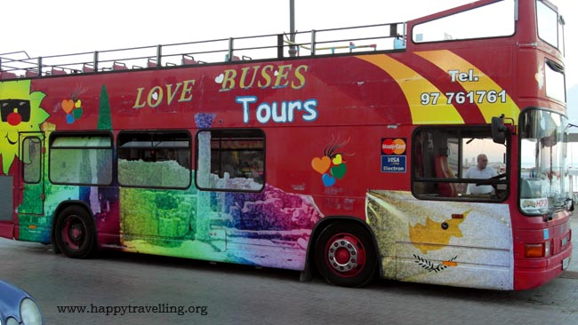 туристический автобус кипр