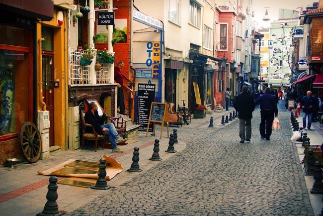 улочка Стамбула