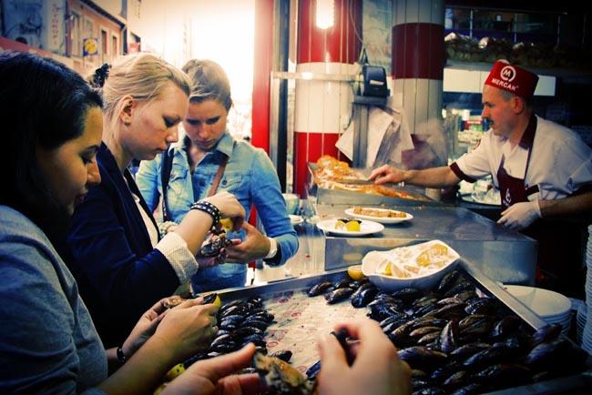 на экскурсии в Стамбуле