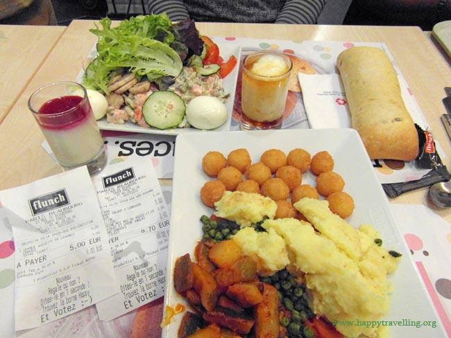 обед в Париже