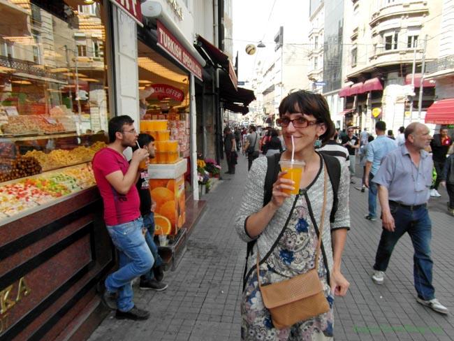 Стамбул и сок