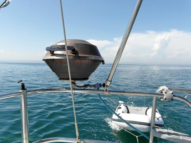 мангал на яхте