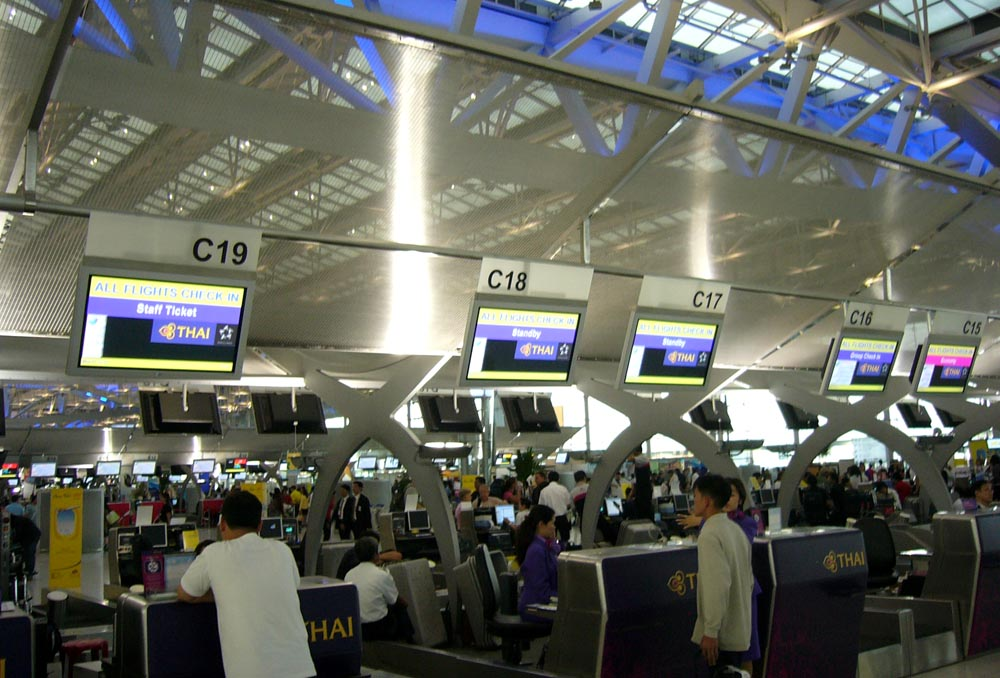 VTBS-Thai_Airways_Check-in_counters