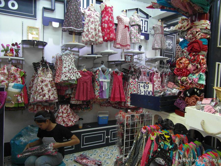 детская одежда чатучак