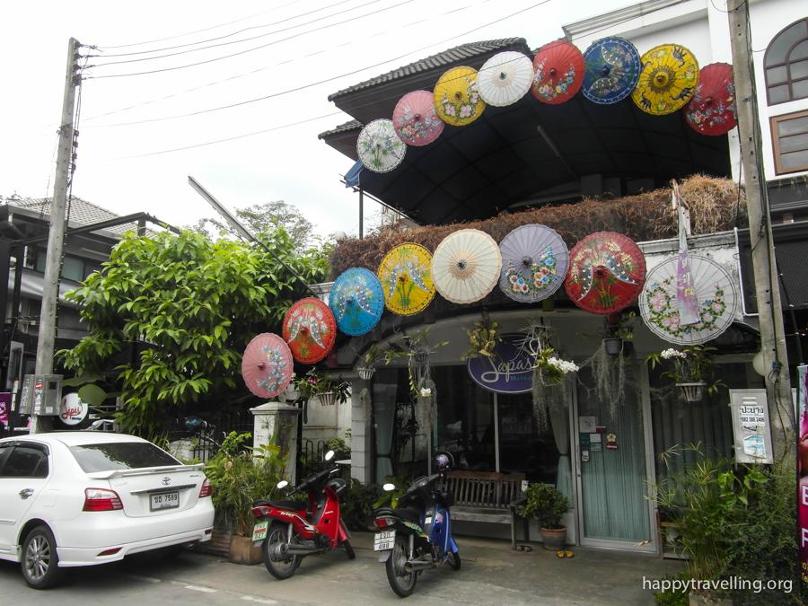 зонтики чиангмая
