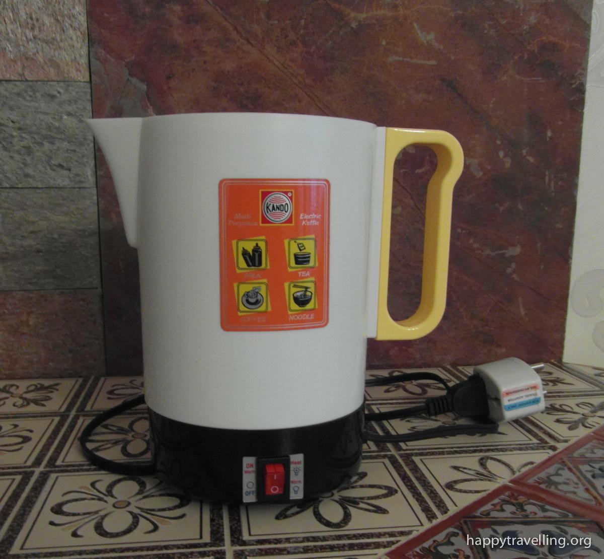 чайник для поездки