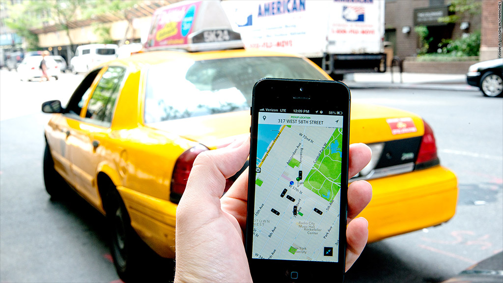 Такси Uber. Гениально! Мой опыт и купон на первую бесплатную поездку