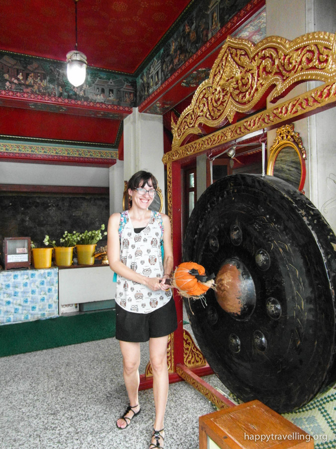 гонг в Ват По