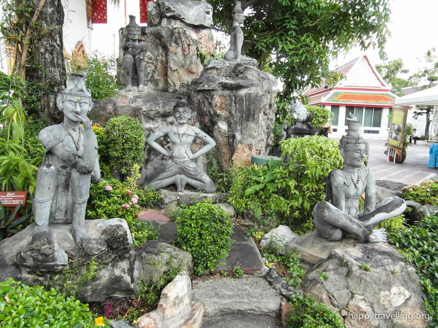 японские садики в Ват По