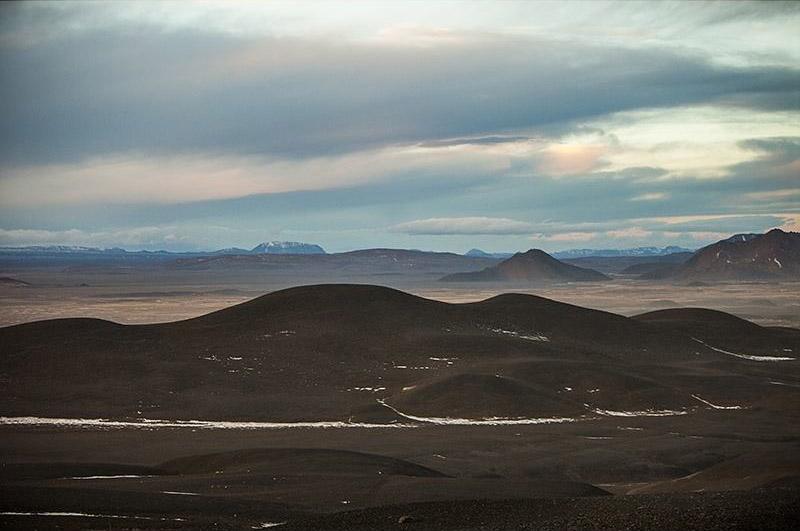 поля исландии