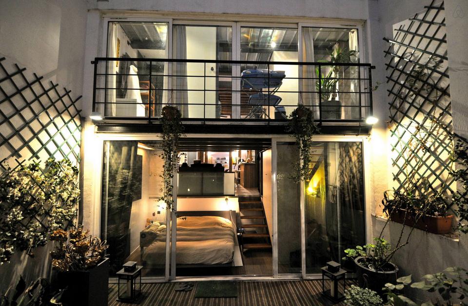 лофт в Париже аренда