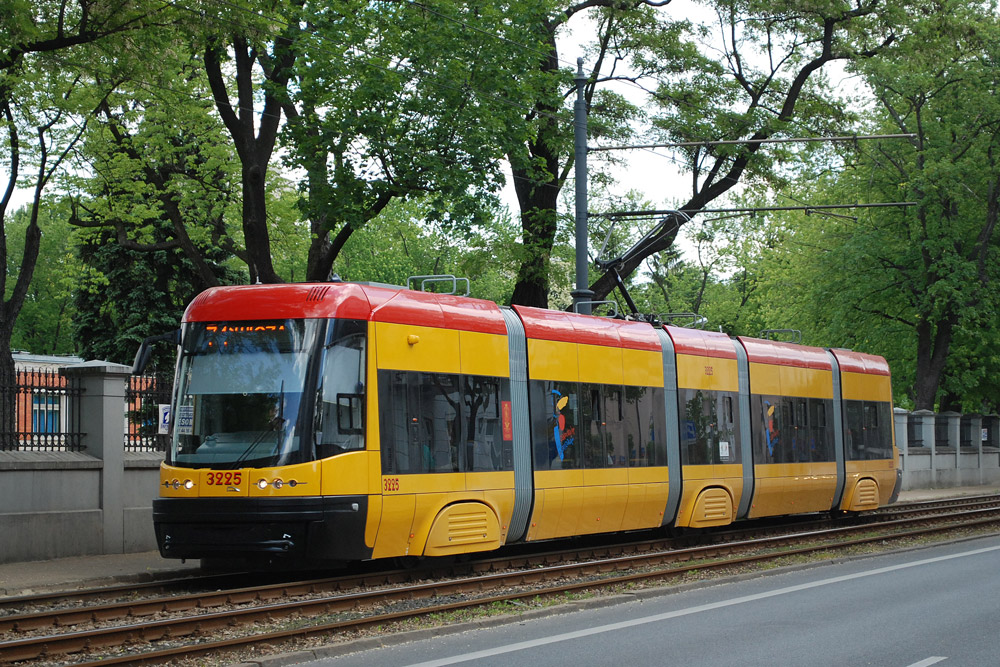 трамвай варшава
