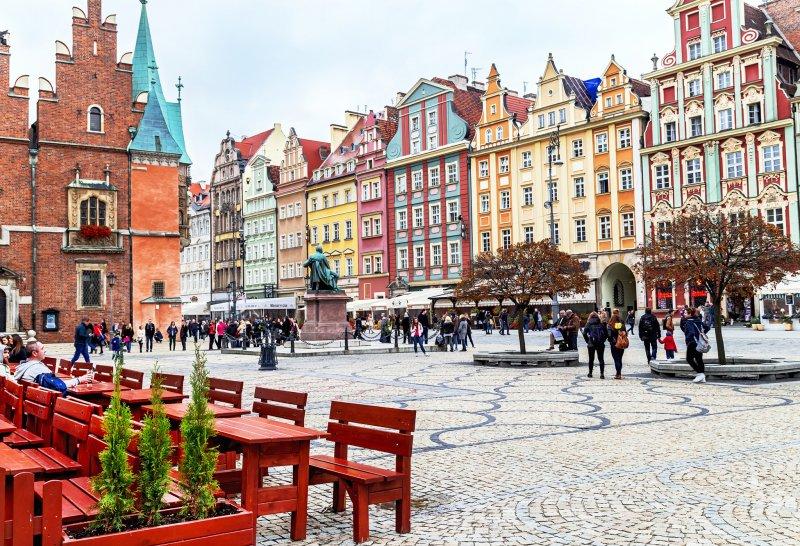 вроцлав - очень немецкий город