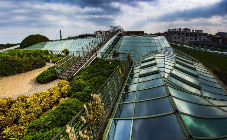 Варшава - ботанический сад на крыше
