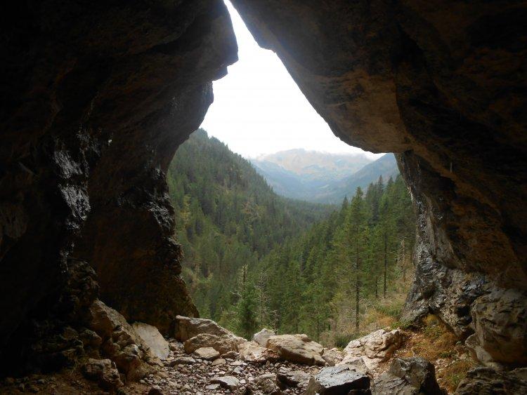 морозная пещера Закопане
