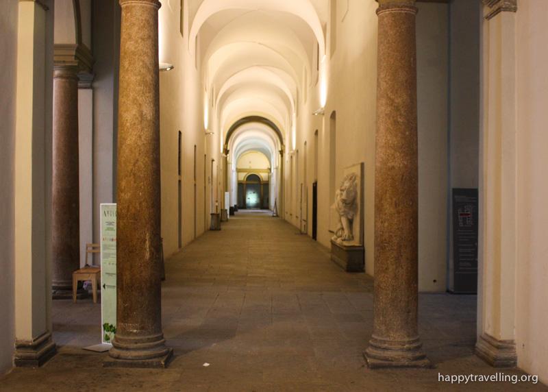 коридоры в Пинакотеке Брера