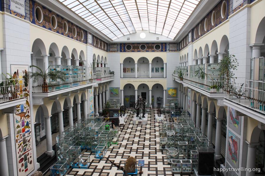 Геологический музей в Варшаве