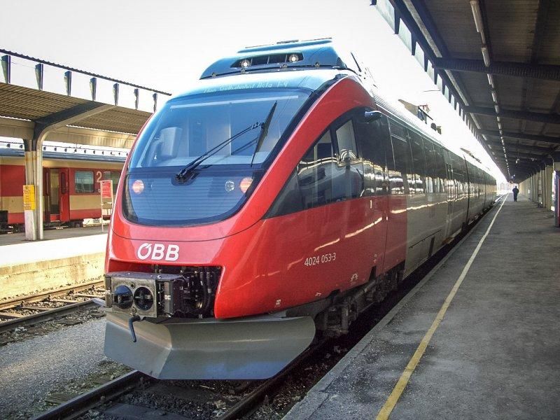 поезд австрии