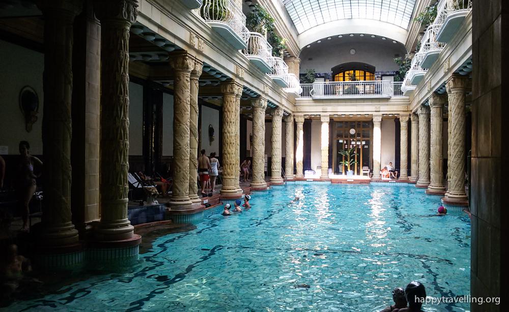 купальни Геллерт Будапешт
