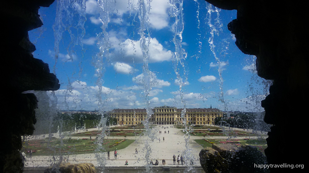 дворец в Вене