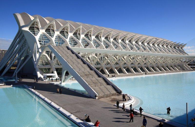 научный музей в Валенсии