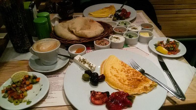 поесть в Варшаве завтраки