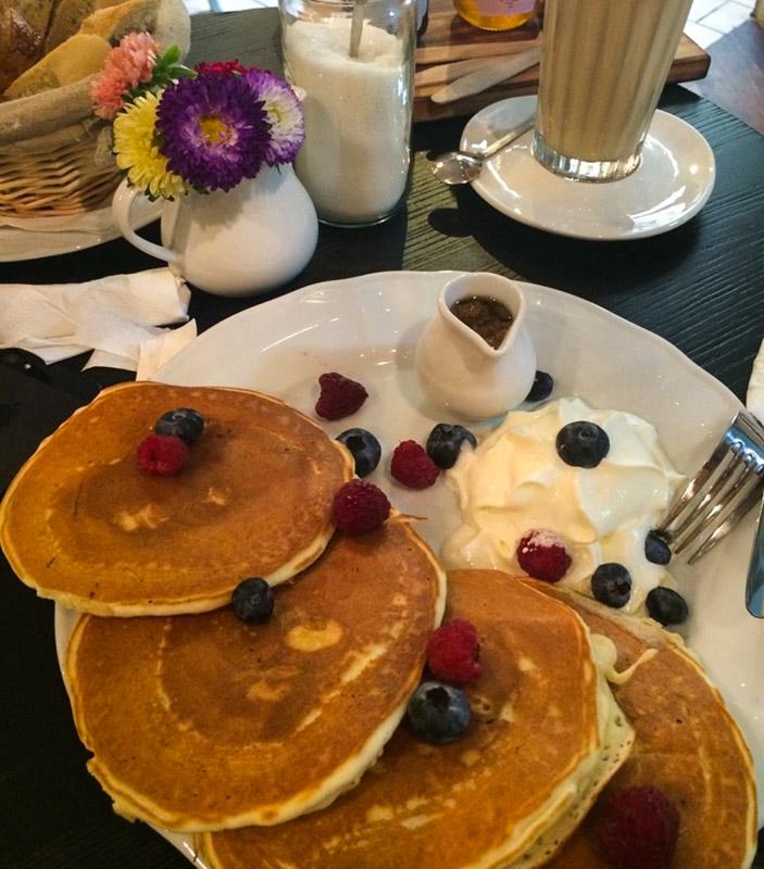 завтрак в варшаве