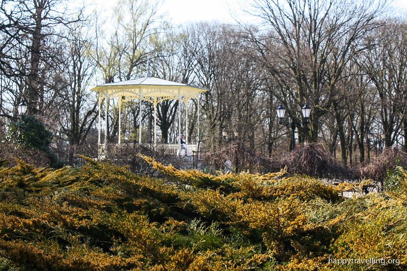 парк в Лодзи