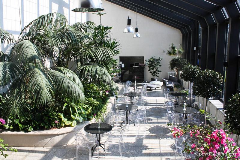 уютное кафе в музее хербста