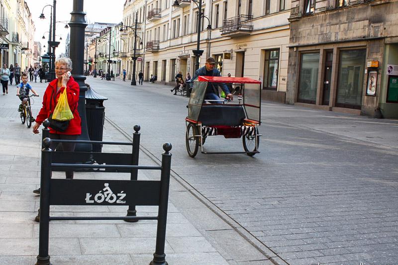 улицы лодзи