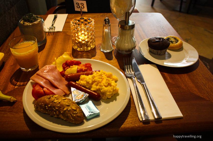 буфет завтраки в Праге