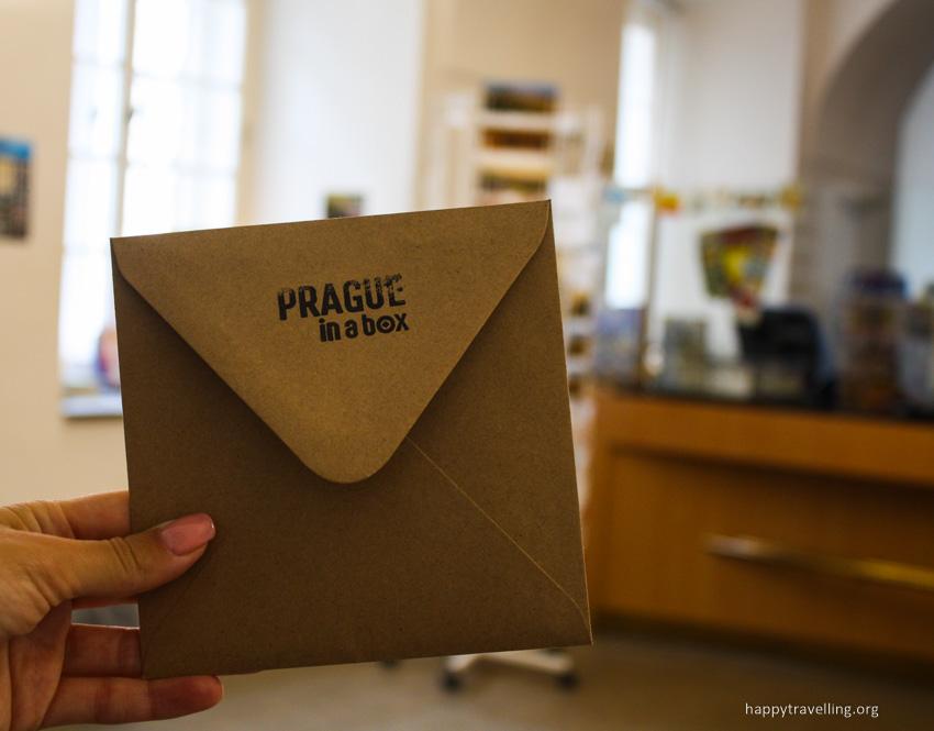 открытка из Праги
