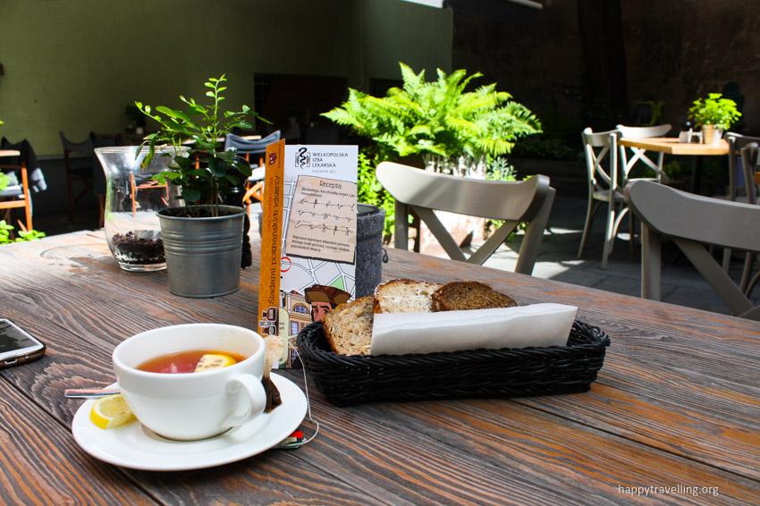 завтрак в Познани