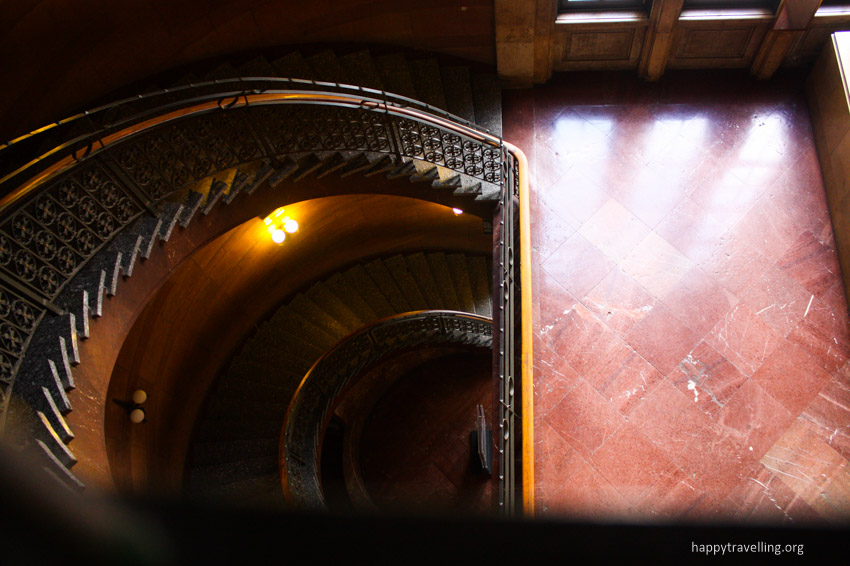 лестница в замке Познани