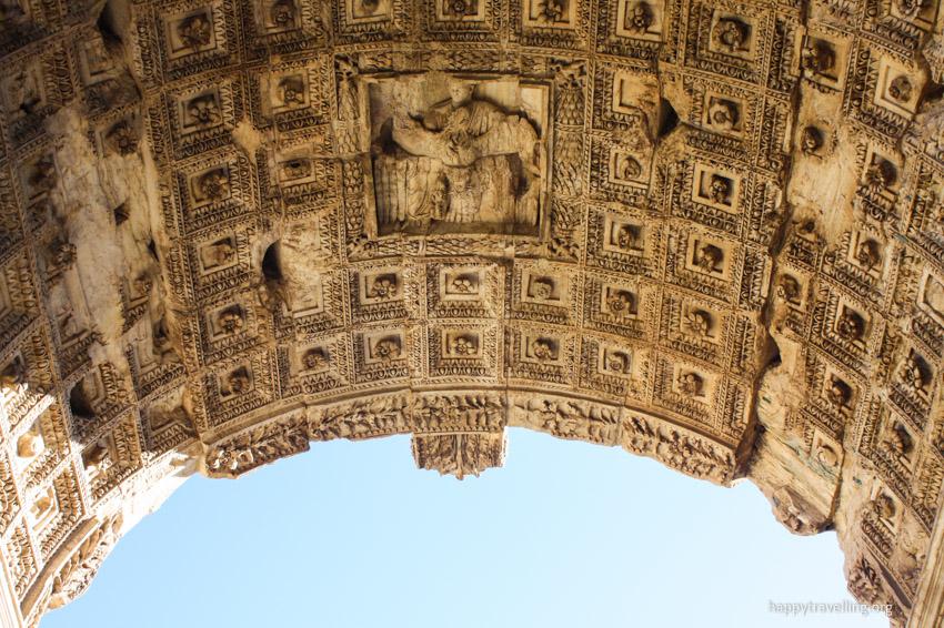 арка из древнего рима