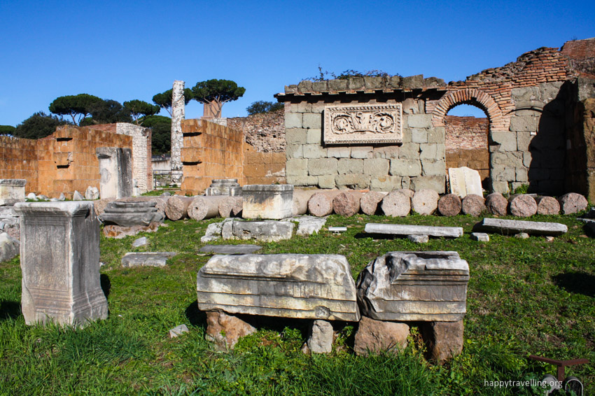 холм Палатин в Риме