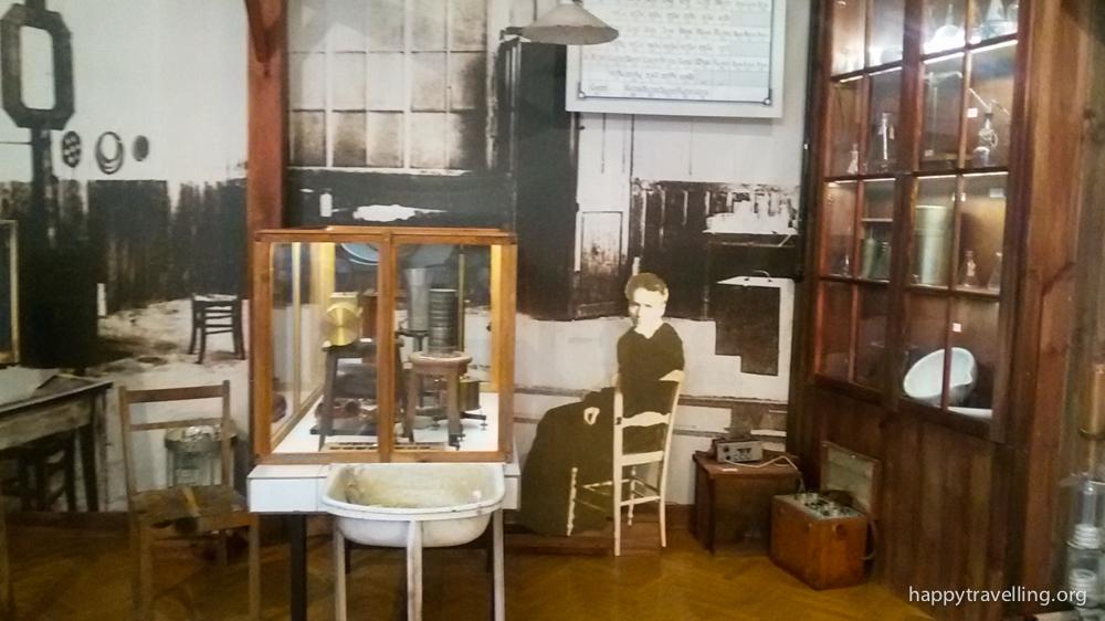 музей Мари Склодовской-Кюри