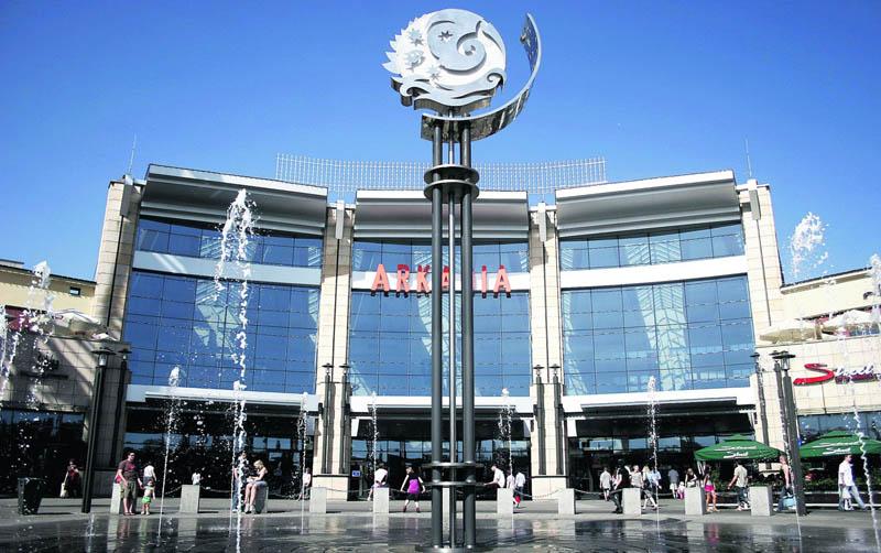 аркадия торговый центр в Варшаве