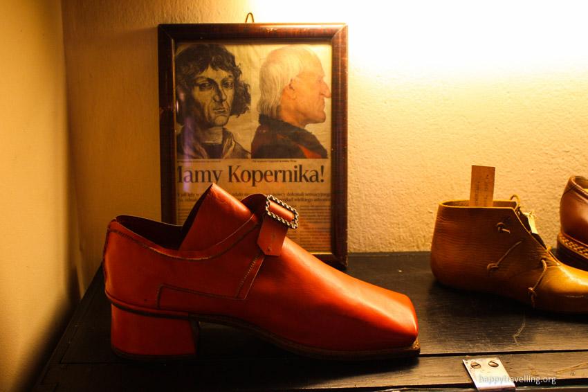 коперник - обувь его