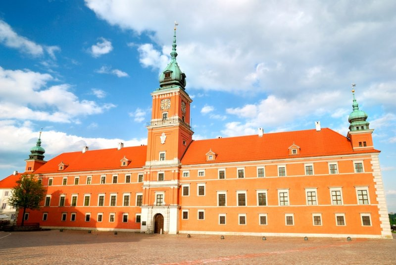 королевский дворец Варшава
