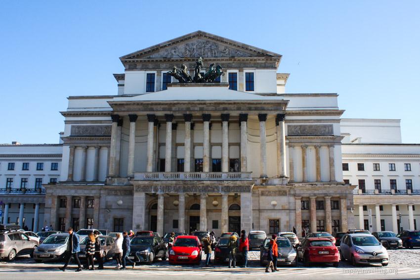 театр оперы и балета Варшава