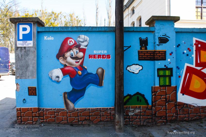 марио граффити