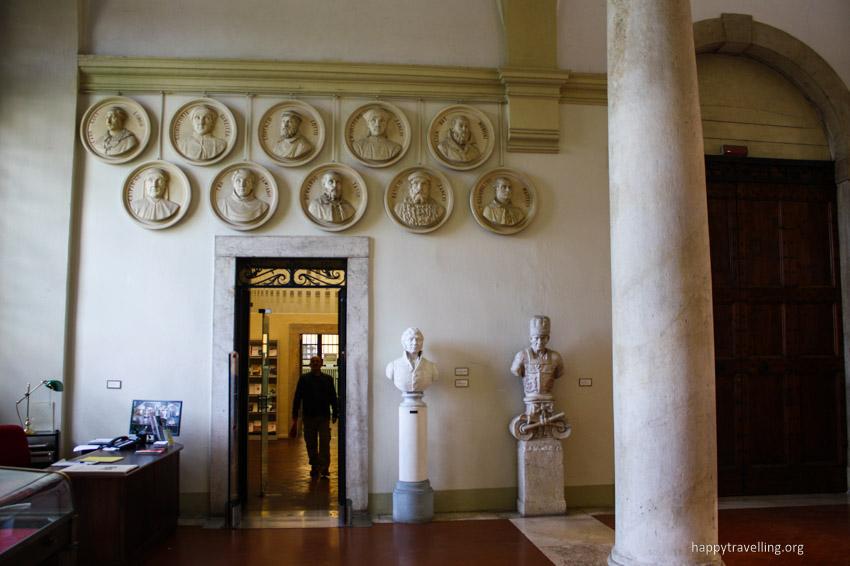 бергамо библиотека