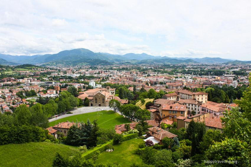 вид на город италия