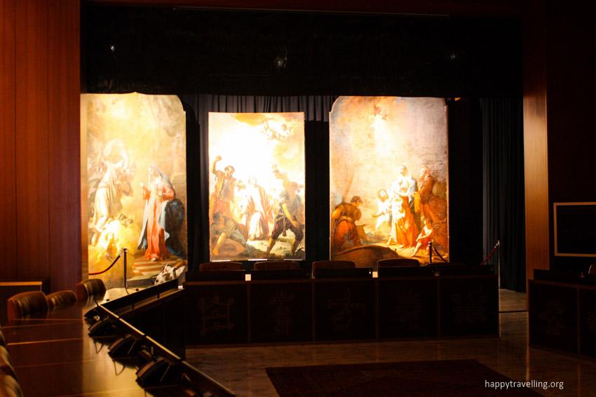 выставка картин италия бергамо