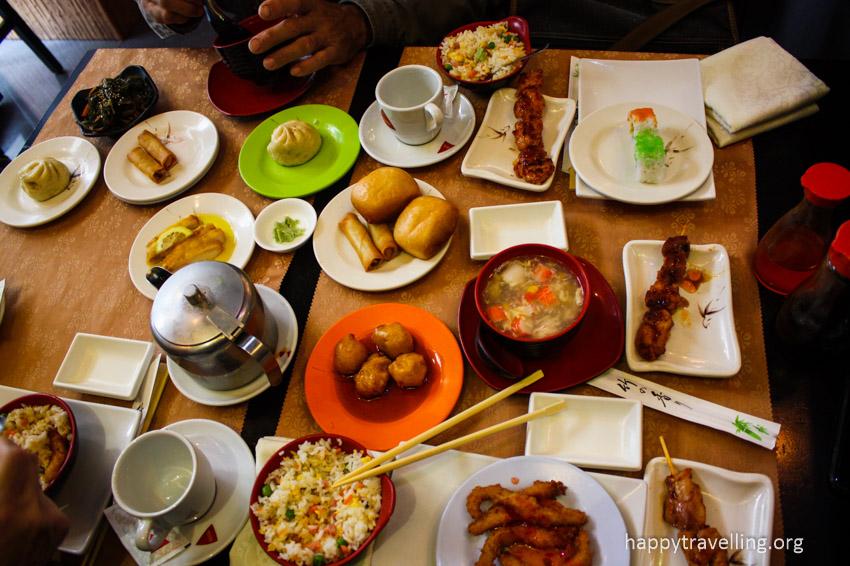 еда азиатская в мадриде