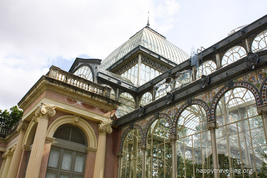 вид на Хрустальный дворец